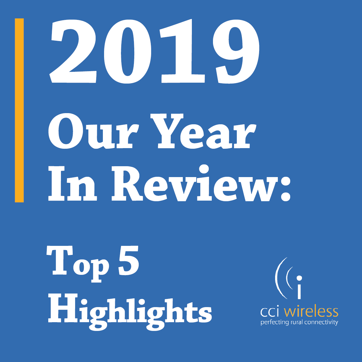 2019: Our Year In Review