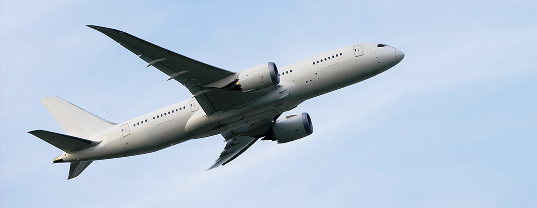 Nabtesco's aircraft components:reliability and efficiency