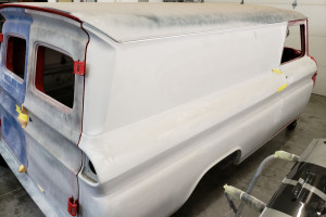 65 Chevy 4WD Panel Truck