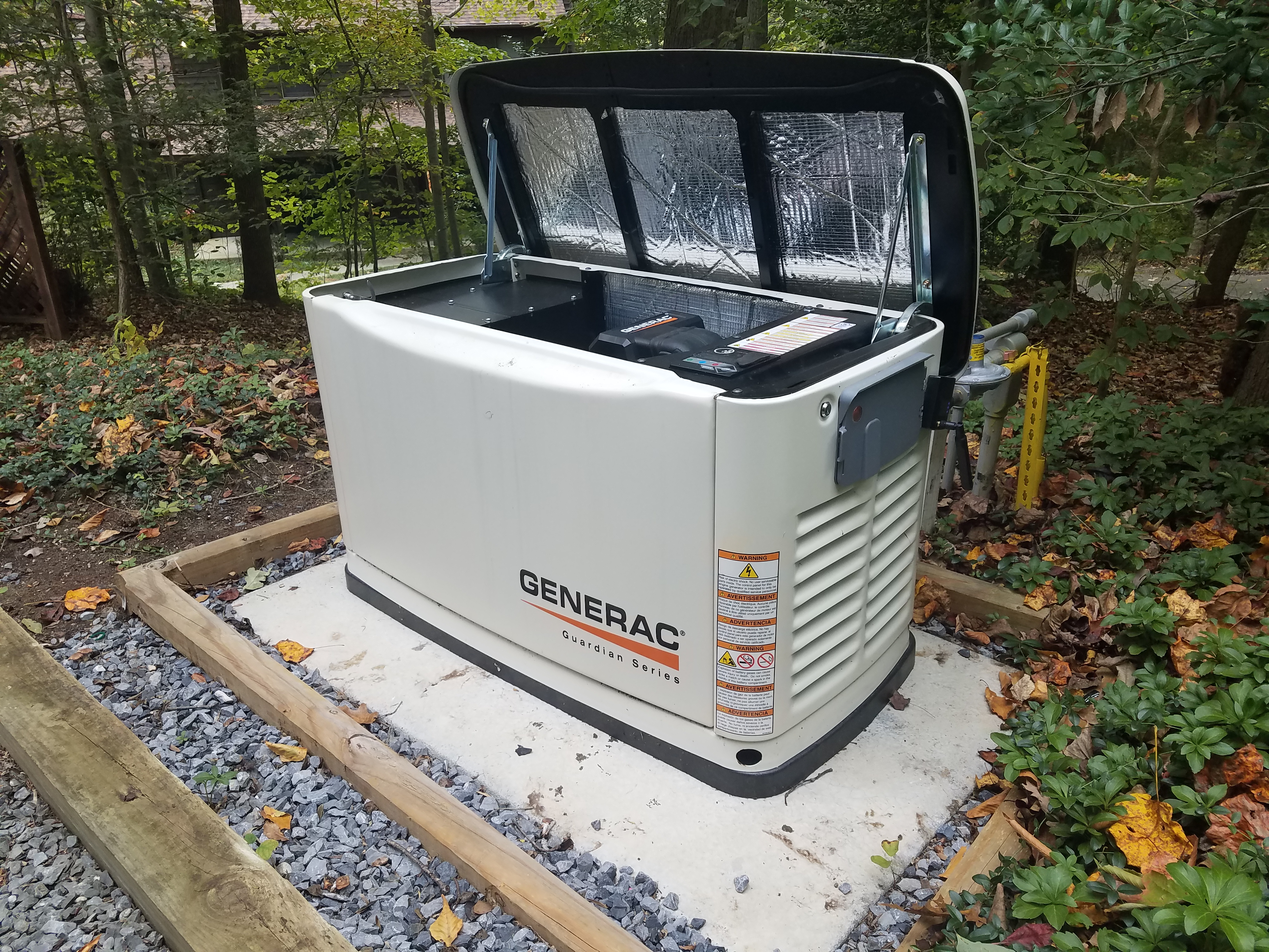 Installation of a Generac Generator in Baltimore, MD