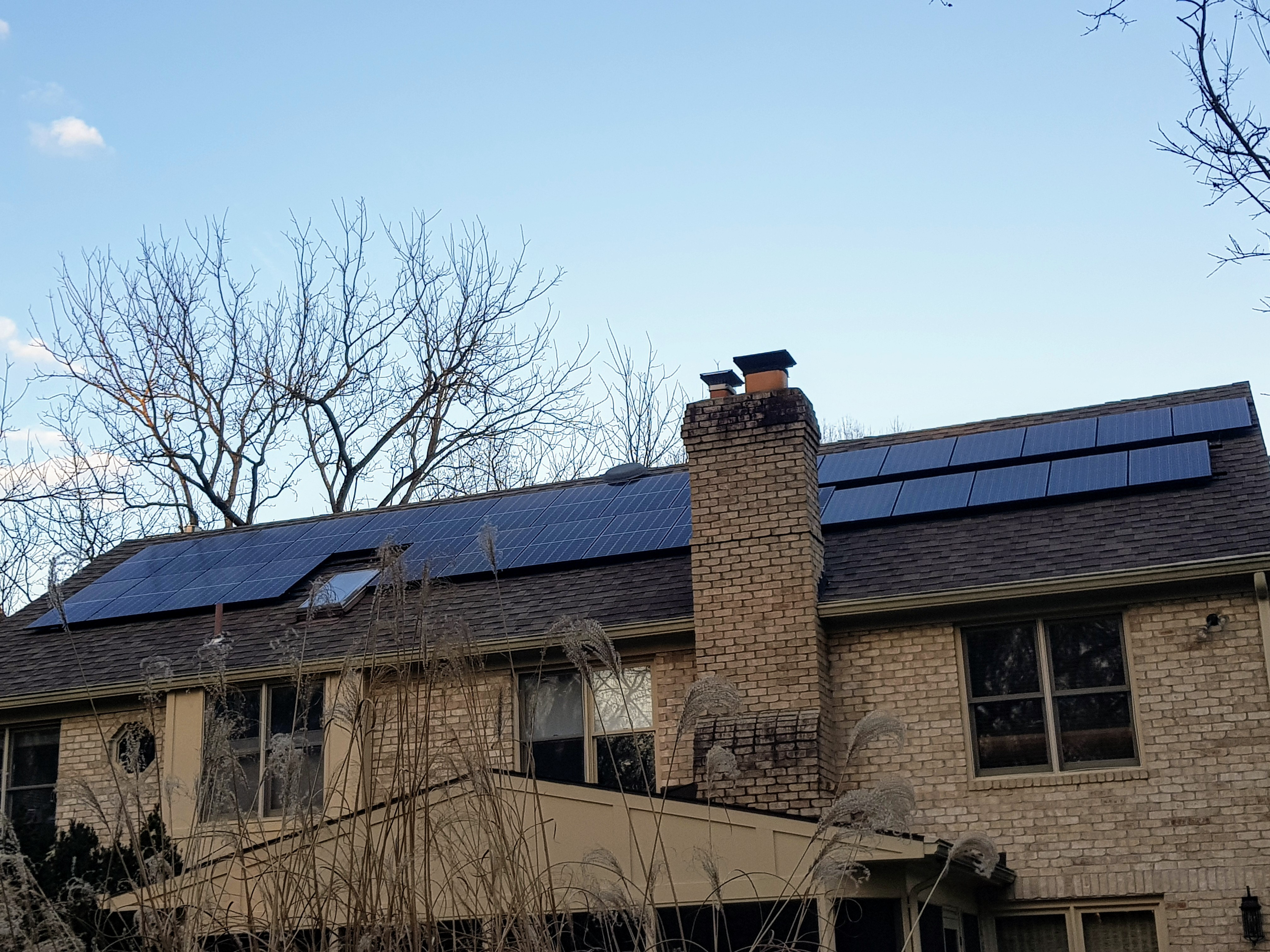 Solar Panel Installation on a Home in Baltimore, MD