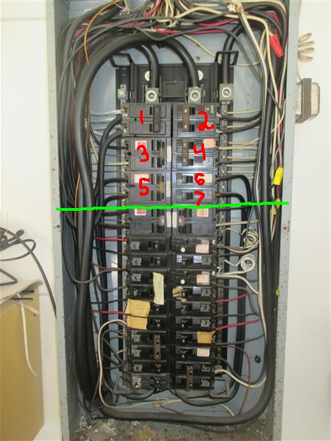 This is a typical Split-buss panel, also has not been made in 40 years!