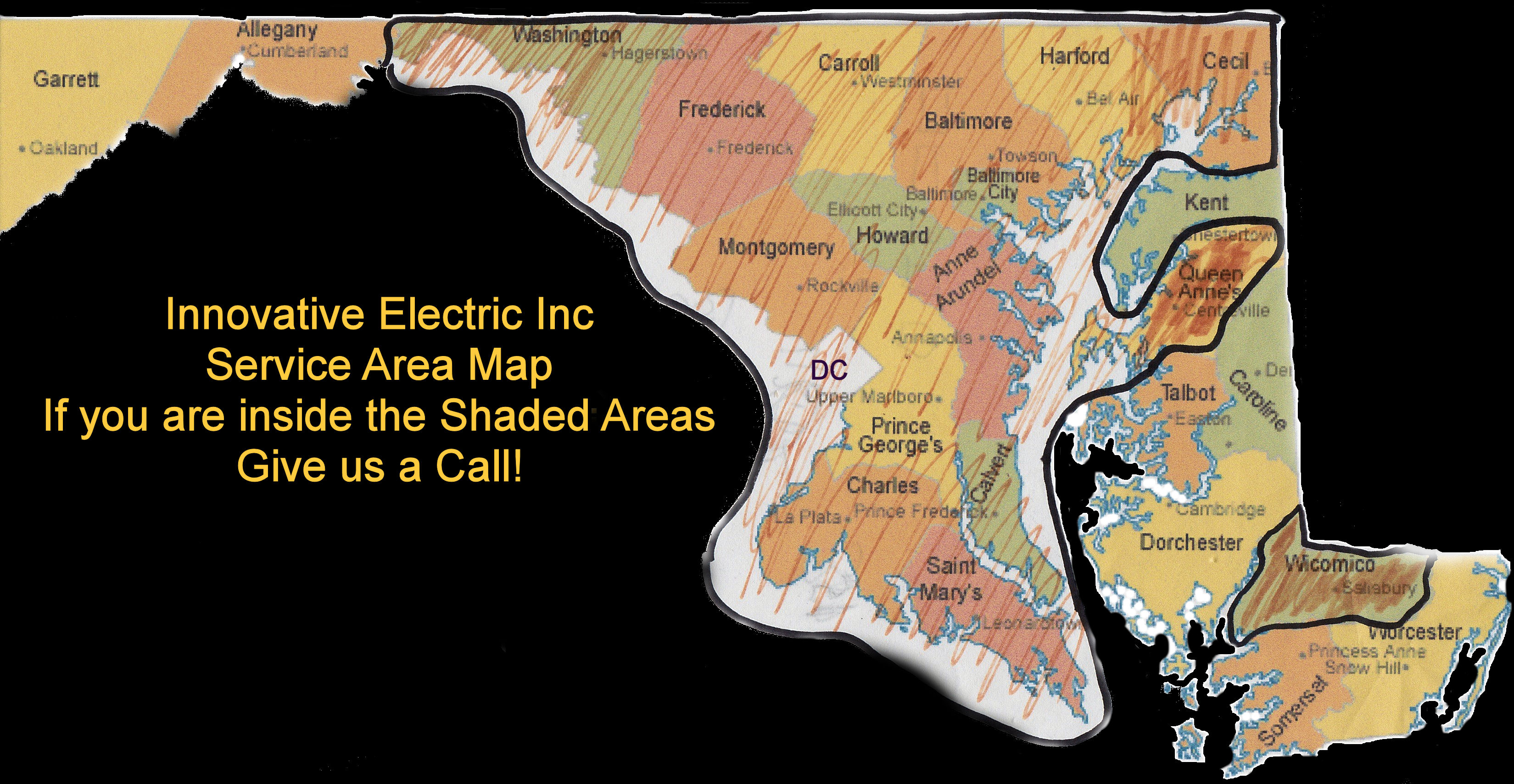 Innovative Electric Inc. Provides Electrician Services in Baltimore MD and Surrounding Areas