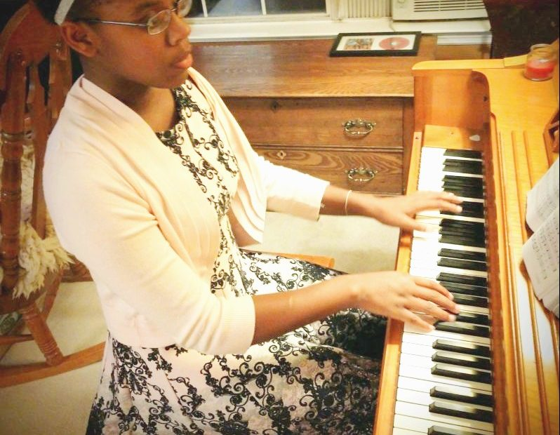Malissa Glover is our piano and voice teacher at Learn Together Lowcountry homeschool co-op in Bluffton SC