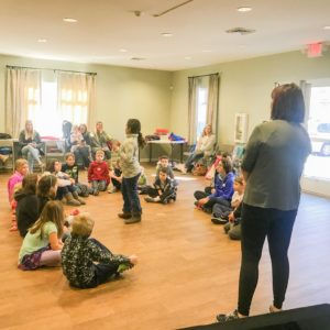 Bluffton Youth Theatre leads a weekly wow workshop Learn Together Lowcountry homeschool co-op in Bluffton SC