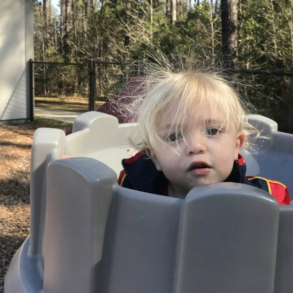 Children enjoy the playground at Learn Together Lowcountry homeschool co-op in Bluffton SC
