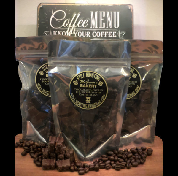 Chocolate Covered Bourbon Infused Coffee Beans