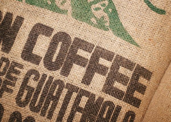Guatemala Coffee Burlap Sack