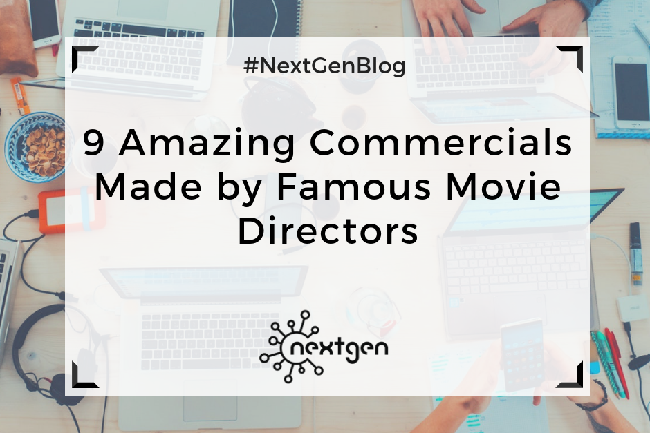 9 Amazing Commercials Made by Famous Movie Directors