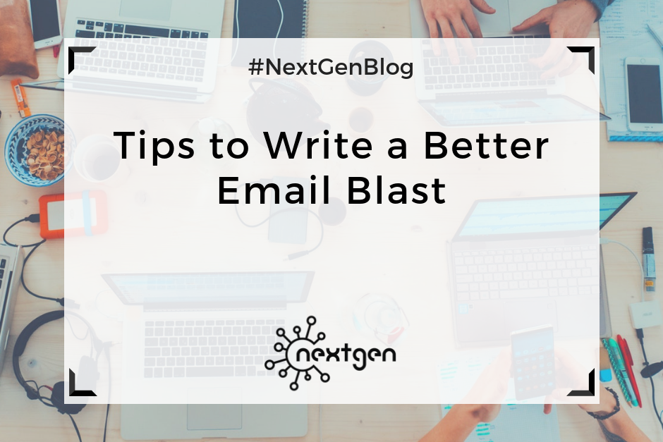 Tips to Write a Better Email Blast