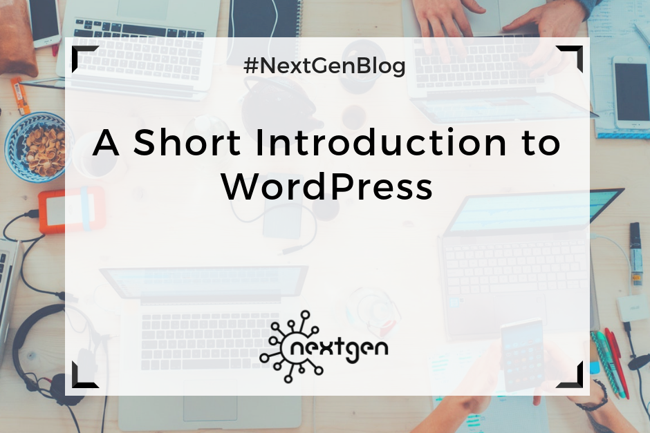 A Short Introduction to WordPress