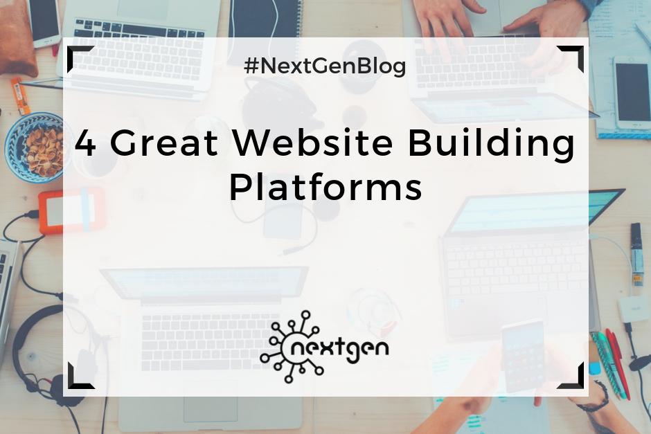 4 Great Website Building Platforms