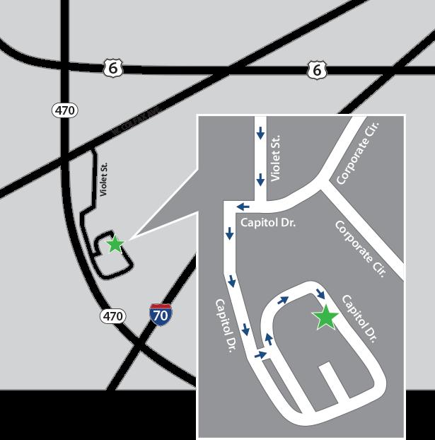 data destruction location map