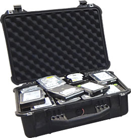 small hard drive shipping case