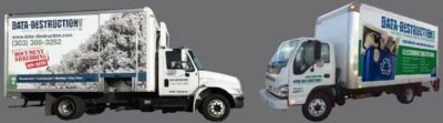 data destruction shredding trucks