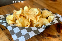 Housemade Chips TO GO! $5 per bag