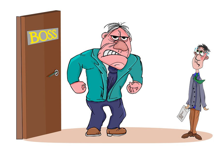 angry boss Bad Actor Staffing Companies