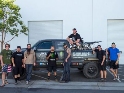 2017 Warrior Built, Baja 500 Team