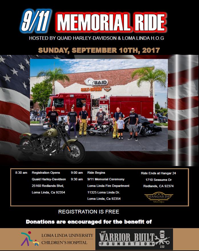 9/11 Memorial Ride