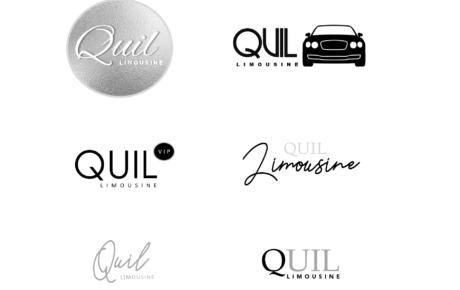 Quil Limousine Logo | Limousine Logo Designer | Transportation Company Logo Designer | Logo Designer Limousine Company