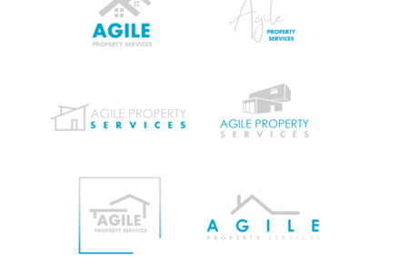 Agile Property Services | Property Logo | Property Logo Design | Real Estate Logo | Real Estate Logo Design