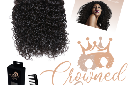 Crowned Sisters Logo | Hair Extensions Logo Design | Hair Weave Logo Design | Hair Extensions Graphic Design | Hair Weave Graphic Design