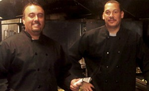 Chef Jeremy Bryant and Kenneth Rogers in their Renton catering kitchen