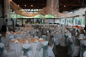 Wedding venue at the Renton Pavilion Event Center