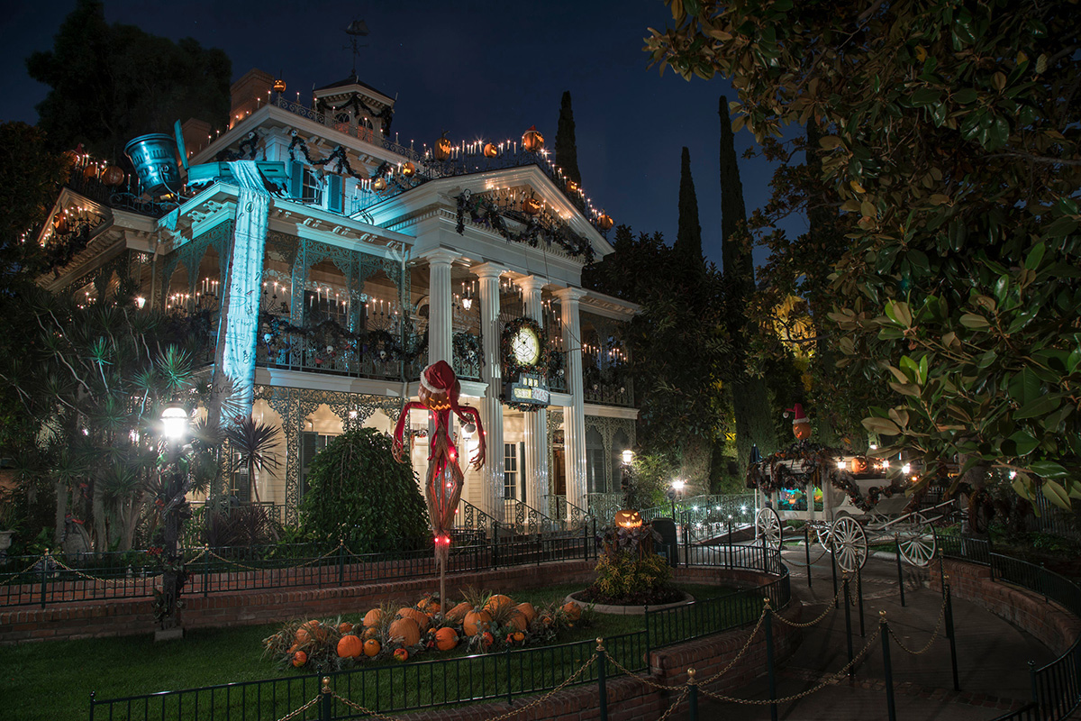 Haunted Mansion Nightmare Before Christmas Overlay