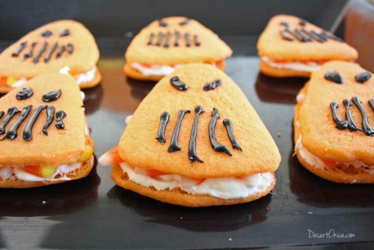 Cars Land Inspired Halloween Cookies