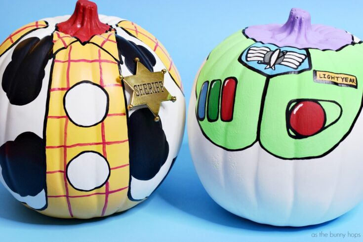 You've Got A Friend In These Buzz and Woody Toy Story Pumpkins!
