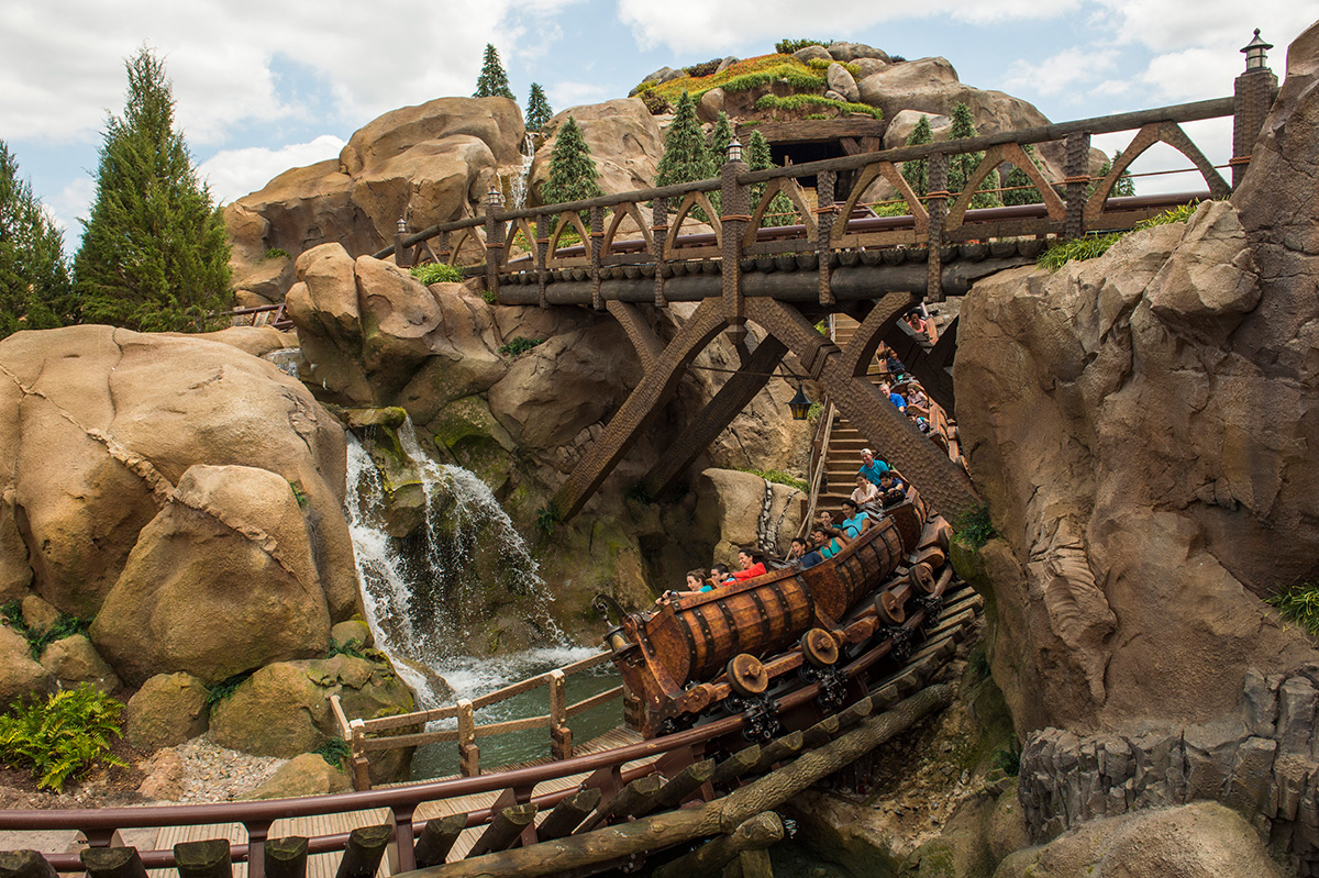 Magic Kingdom Fastpass Plus Attractions for Crowded Days