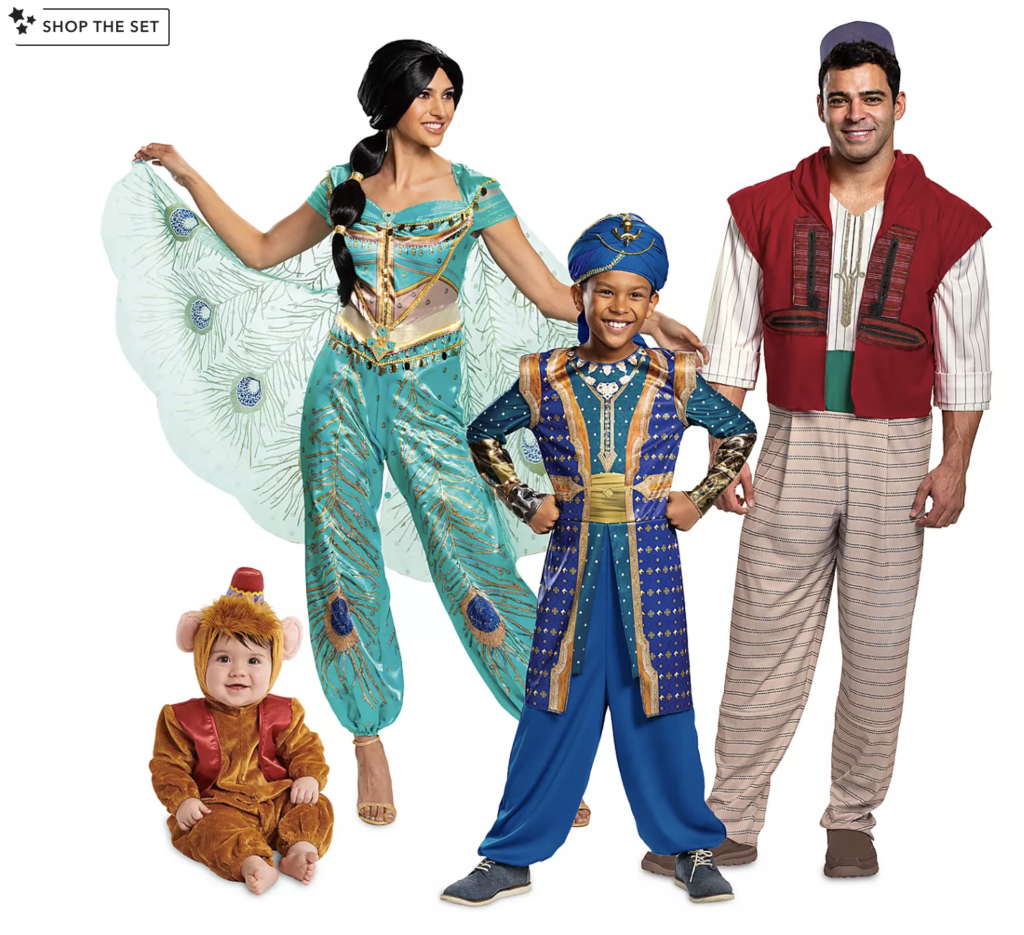 Aladdin Live Action Costumes