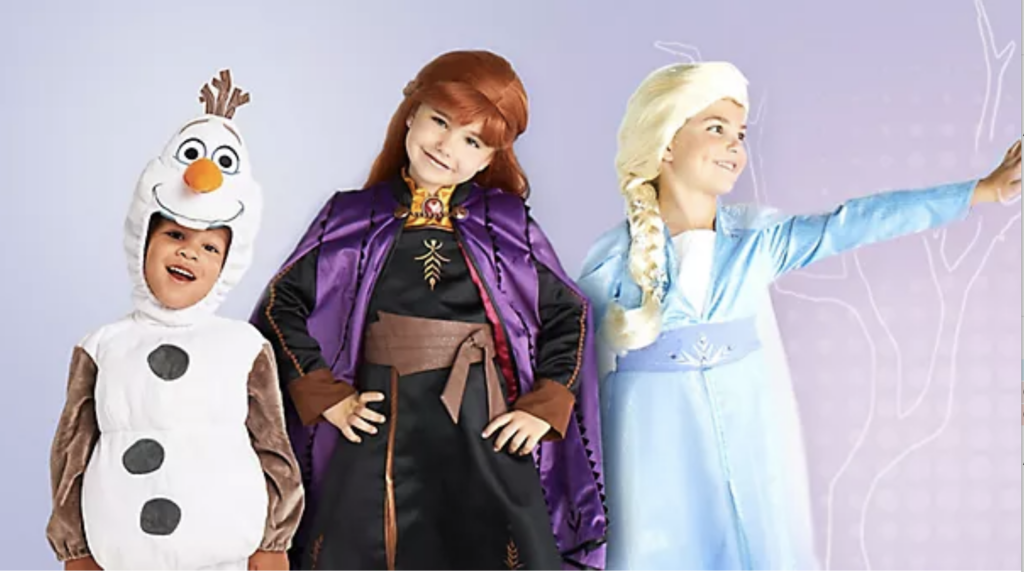 Frozen 2 Costumes