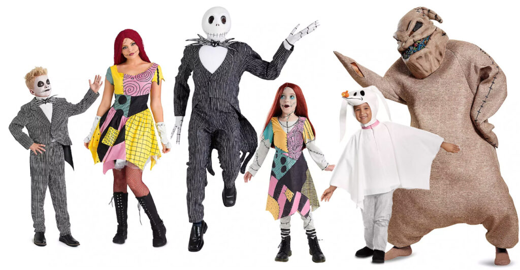 Nightmare Before Christmas Costumes