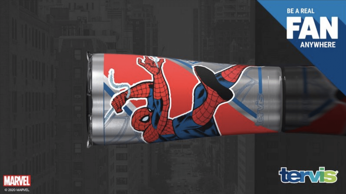New Limited Edition Marvel Tervis Tumblers