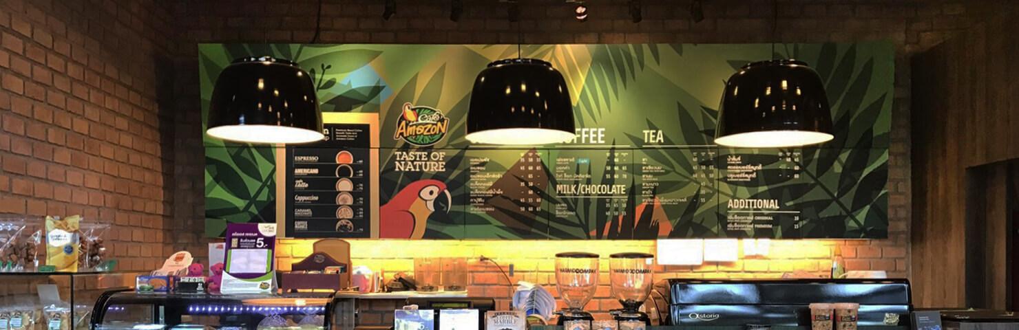 คาเฟ่อเมซอน กาแฟ โครงการสตาร์เวิร์คเชียงใหม่