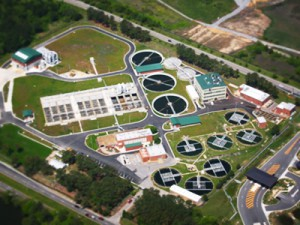 Water treatment, sewage treatment, laboratories, and solid and hazardous waste recycling facilities.