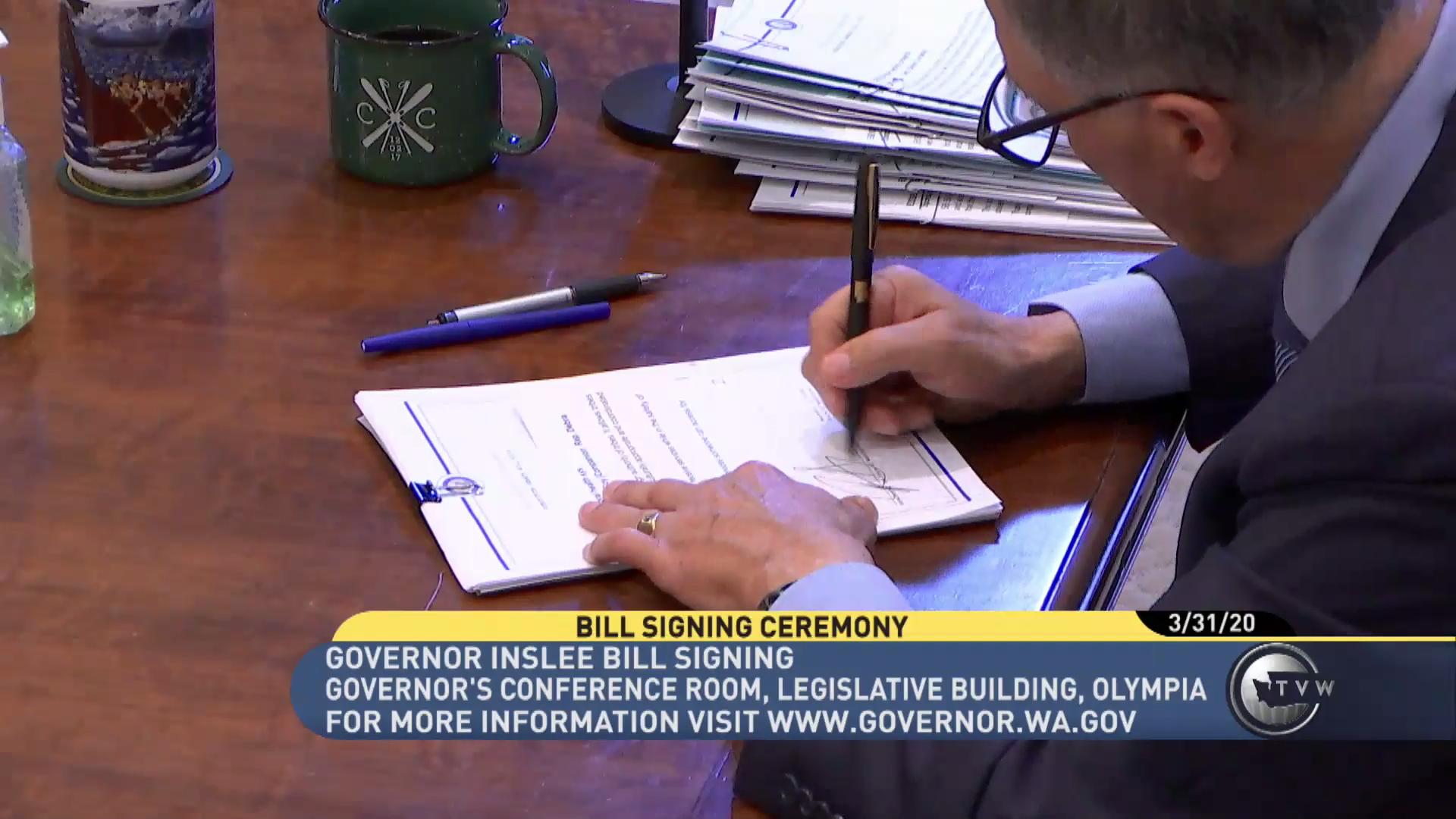Gov Inslee Signing SSB 6259