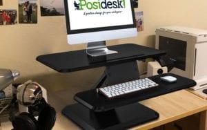 Posidesk POSI210BK pedestal desk 2