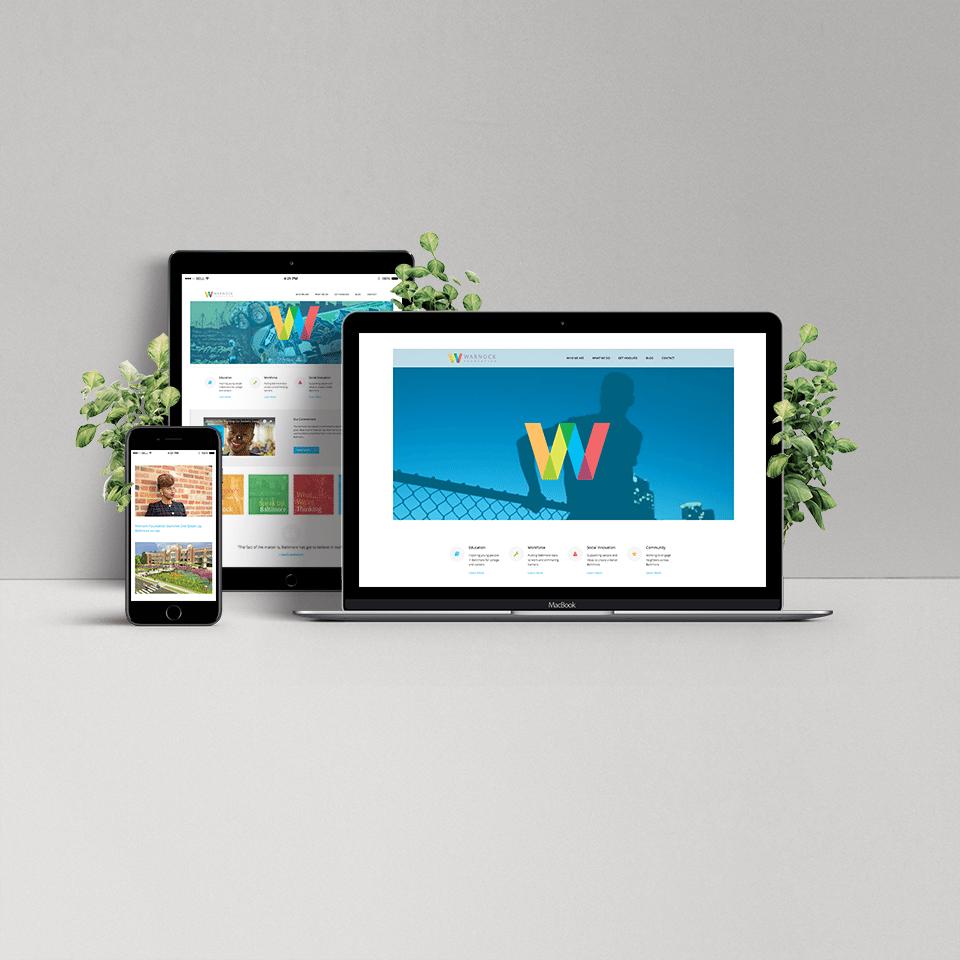 warnock-website-mock