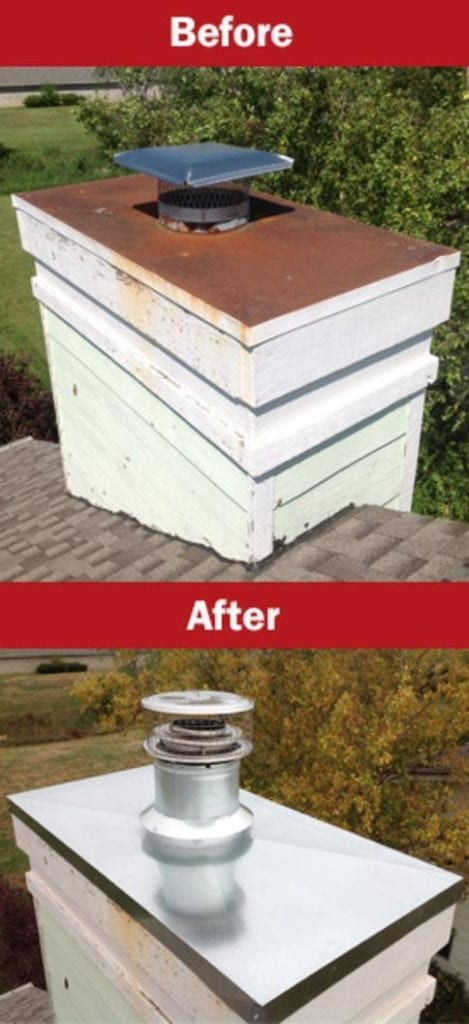 Chimney Crown Repairs