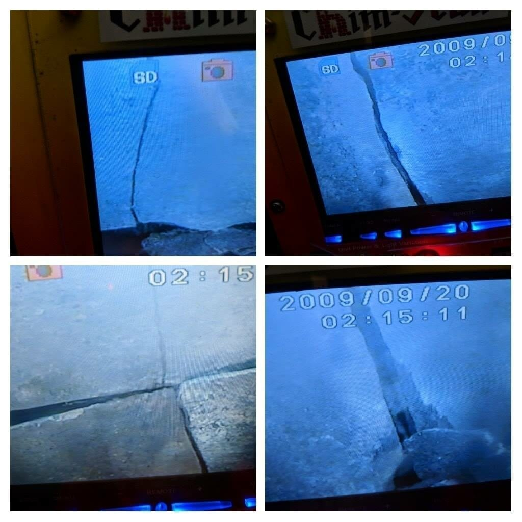 Chimney Inspection camera cracked flue tiles relining