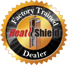 Heat Shield Factory Trained dealer for cerfractory flue sealant
