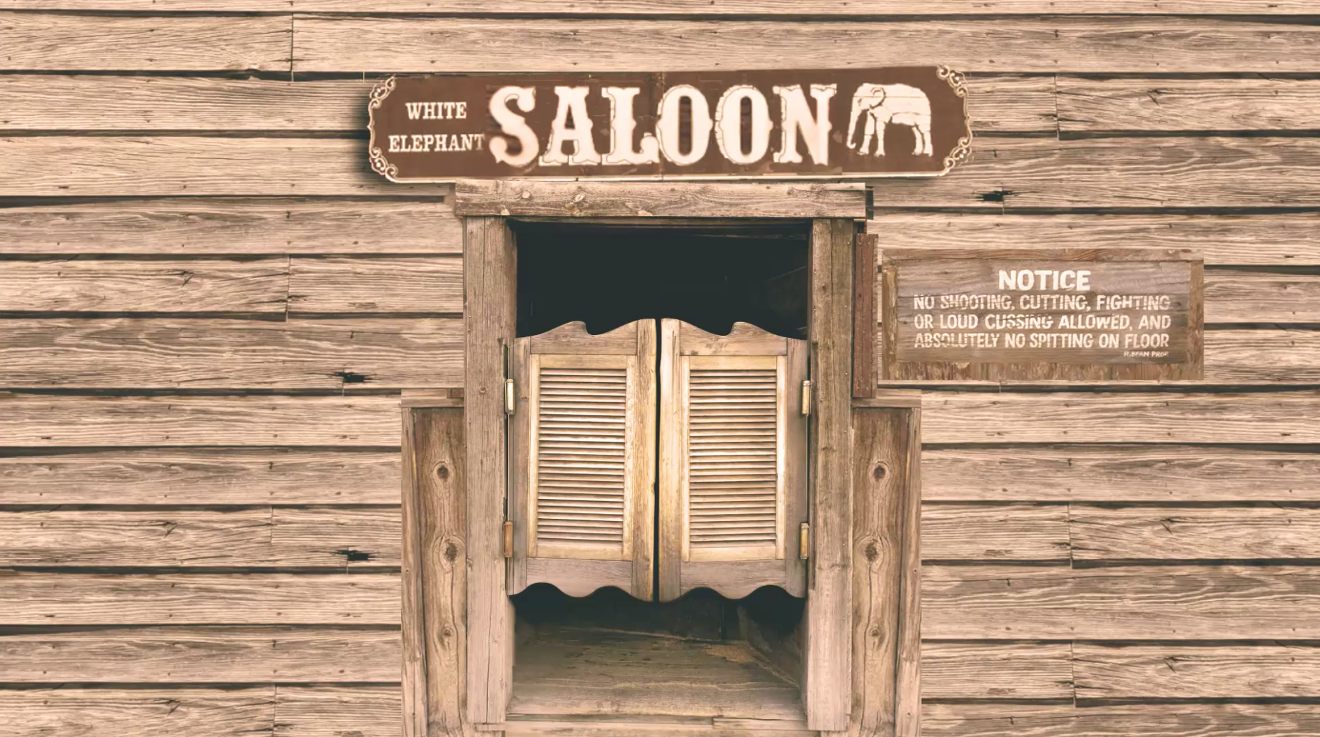"""The REAL Story Behind the """"White Elephant Saloon"""""""