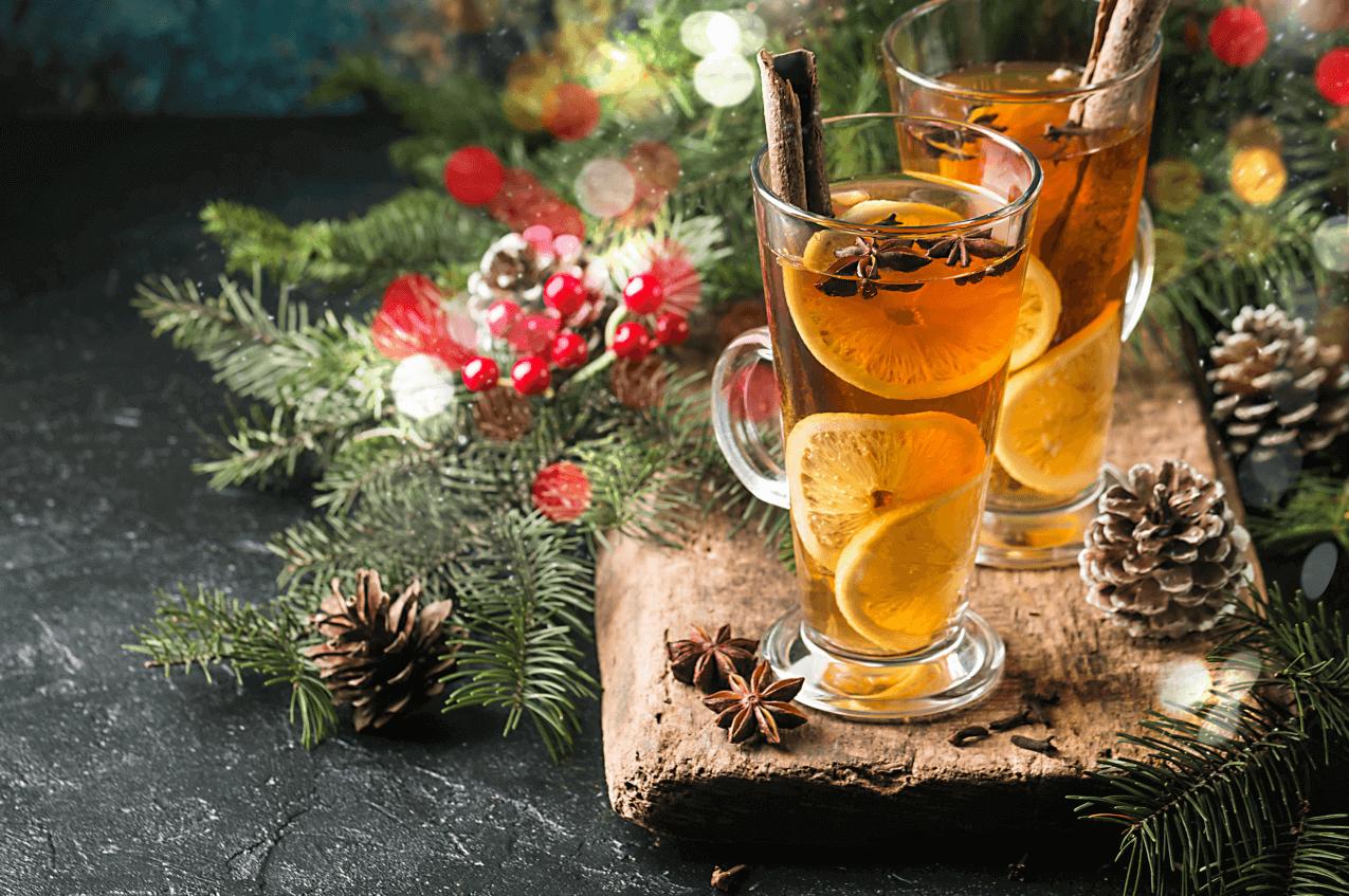 Boozy Christmas Cider