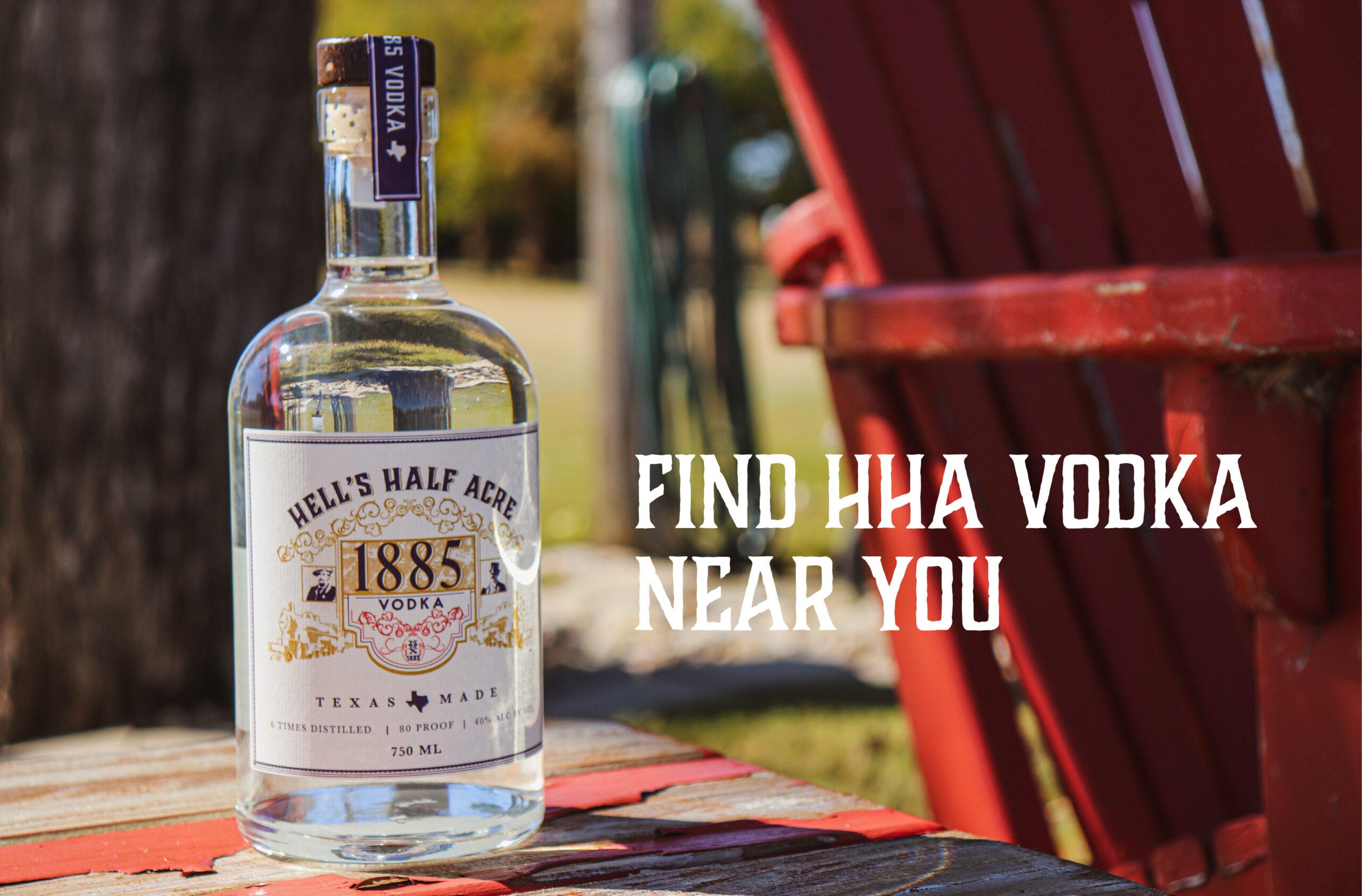 Find hha vodka near you