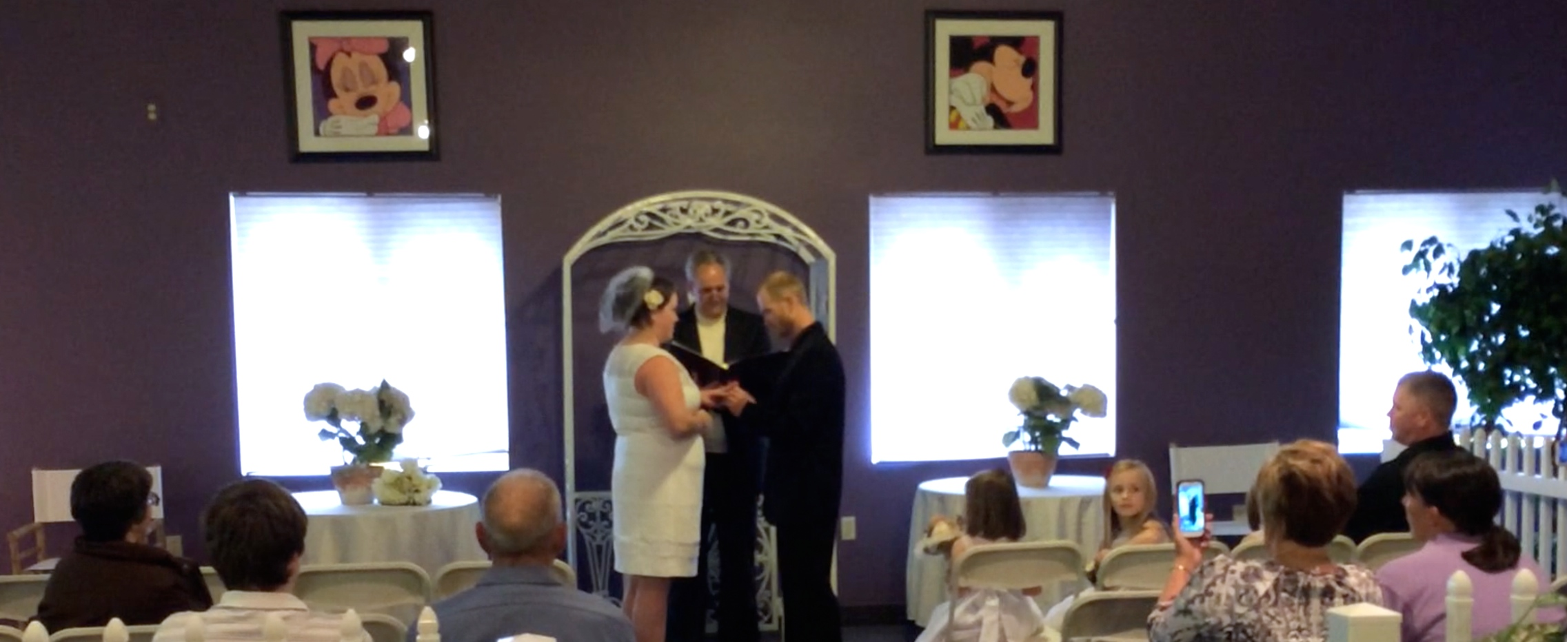 Wedding with the Art of Disney in Northern Michigan
