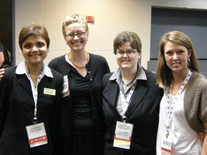 Image of RIFE group members Banerjee, Pawley, Nelson, and Hoegh