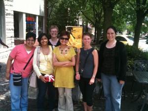 Photo of 6 RIFE group members